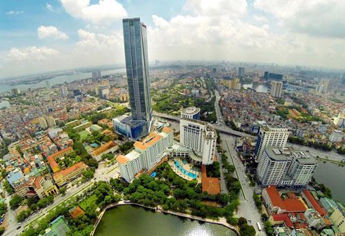 Một góc Thủ đô Hà Nội - Ảnh: Hoàng Hà.<br>