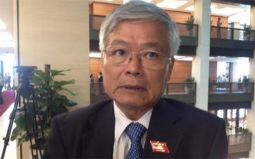 Nguyên Chủ tịch Tập đoàn Than - Khoáng sản Việt Nam (TKV), đại biểu Quốc hội Trần Xuân Hòa.<br>