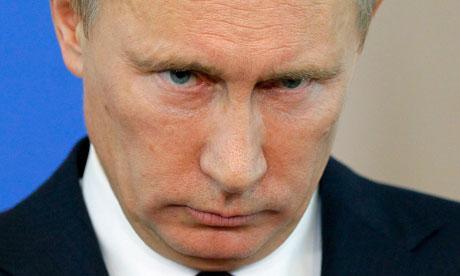 Tổng thống Nga Vladimir Putin - Ảnh: AP.<br>