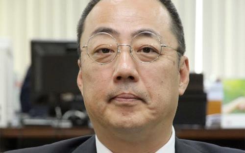 Ông Okada Kiyoshi, Tổng giám đốc Công ty Bảo hiểm Liên Hiệp (UIC).