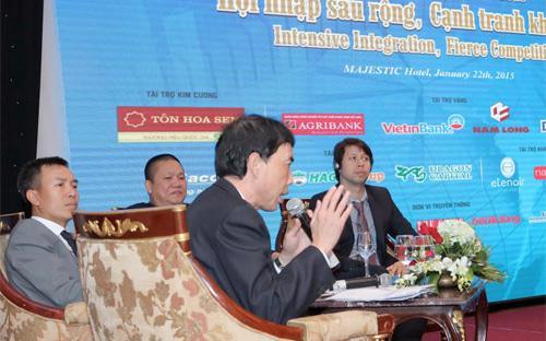 Những nỗ lực, giải pháp của Chính phủ được các diễn giả đánh giá đã phát huy tác dụng. <br>
