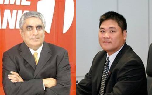Ông Atul Malik (bên trái) và ông Tạ Ngọc Đa.<br>