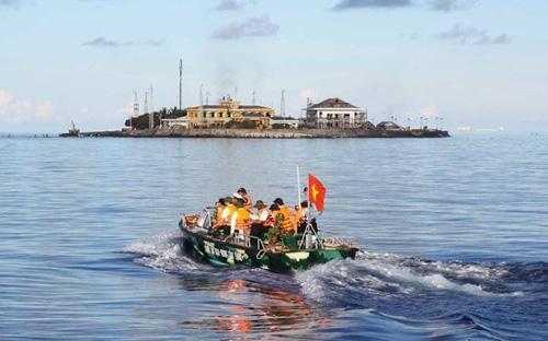 Đảo Phan Vinh thuộc quần đảo Trường Sa của Việt Nam - Ảnh: Quý Trung.