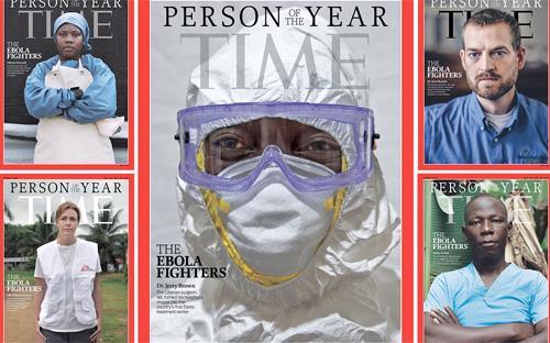 Bài viết của Time đem đến cho độc giả một cái nhìn cận cảnh những con  người trên chiến tuyến trong cuộc chiến chống lại dịch Ebola, từ Tom  Frieden, Giám đốc Trung tâm Kiểm soát dịch bệnh Mỹ (CDC), cho tới người  lái xe cấp cứu có tên Foday Gallah.
