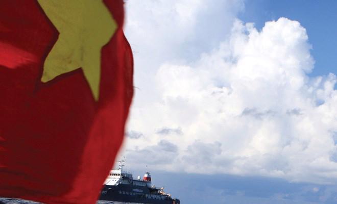 Tình hình biển Đông tiếp tục là một trong những mối quan tâm lớn của cử tri cả nước - Ảnh: Trung Hiếu.
