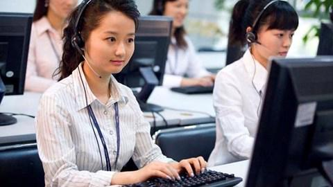 Trung tâm chăm sóc khách hàng Call Center của Viettel.<br>