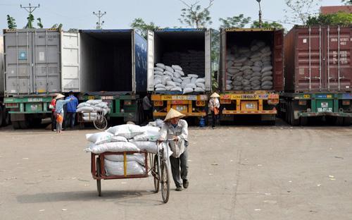 Nhiều mặt hàng nông sản chủ lực của Việt Nam chủ yếu được xuất khẩu sang Trung Quốc.<br>