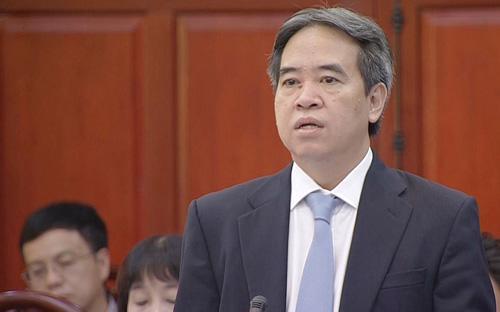 Thống đốc Nguyễn Văn Bình trả lời chất vấn của đại biểu Quốc hội tại  phiên họp của Ủy ban Thường vụ Quốc hội chiều 29/9 - Ảnh: VnExpress.