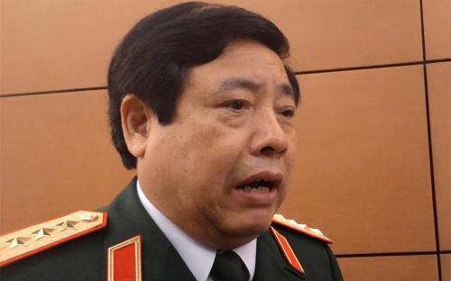 Bộ trưởng Bộ Quốc phòng Phùng Quang Thanh.