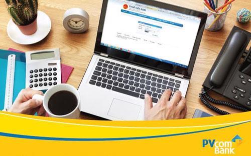 Với dịch vụ này, khách hàng có thể thực hiện giao dịch nộp thuế 24/7 tại mọi địa điểm có thể kết nối internet.
