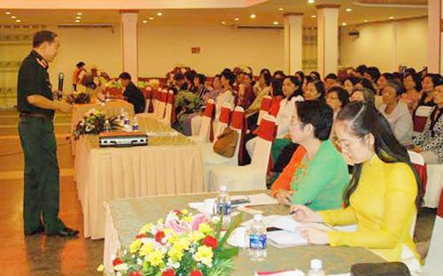 Việc thực hiện chính sách đối với cán bộ nữ vẫn tùy thuộc vào điều kiện và sự quan tâm của lãnh đạo từng đơn vị, địa phương, báo cáo nêu rõ.