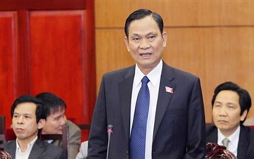 Bộ trưởng Bộ Nội vụ Nguyễn Thái Bình.