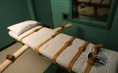 Một phòng thi hành án tử hình bằng cách tiêm thuốc độc tại nước ngoài.<br>