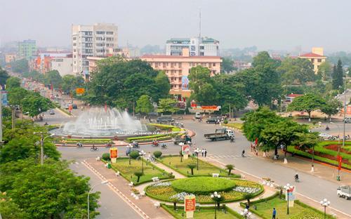 Một góc thành phố Thái Nguyên.<br>