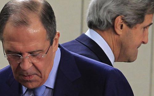 Cuộc gặp giữa hai ngoại trưởng Nga-Mỹ lần này không đem lại kết quả đáng kể nào trong việc giải quyết cuộc khủng hoảng Ukraine - Ảnh: Reuters.<br>