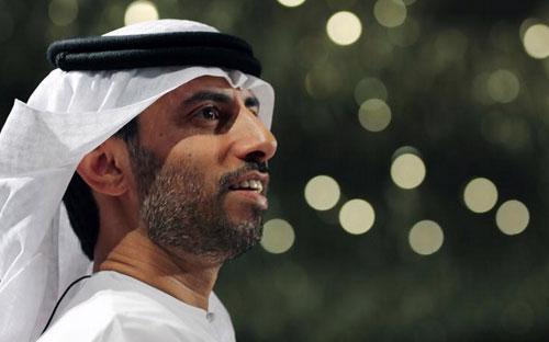 Ông Suhail Mohamed Faraj al-Mazrouei, Bộ trưởng Bộ Dầu lửa UAE - Ảnh: AP.<br>