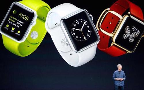 Giám đốc điều hành (CEO) Tim Cook của Apple trong buổi lễ giới thiệu sản phẩm mới ngày 9/9 - Ảnh: Reuters.<br>