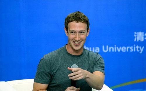 Mark Zuckerberg trong cuộc nói chuyện ở Đại học Tsinghua, Bắc Kinh, Trung Quốc - Ảnh: ABC News.<br>