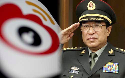 Ông Từ Tài Hậu từng giữ chức Phó chủ tịch Quân ủy Trung ương Trung Quốc trong suốt 8 năm - Ảnh: Scmp.