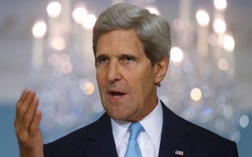 Ngoại trưởng Mỹ John Kerry - Ảnh: AP.
