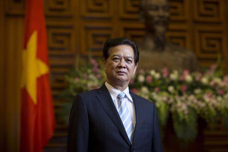 Thủ tướng Nguyễn Tấn Dũng - Ảnh: Bloomberg.<br>