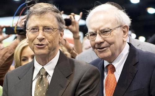 Hai tỷ phú Mỹ Bill Gates (trái) và&nbsp; Warren Buffett - Ảnh: Bloomberg/Getty/CNBC.<br>