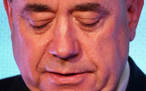 Nỗi buồn của ông Alex Salmond - Ảnh: Journal.<br>