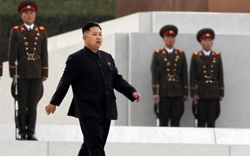 Nhà lãnh đạo Triều Tiên Kim Jong Un - Ảnh: AP.<br>