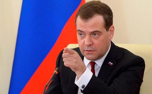Thủ tướng Nga Dmitry Medvedev - Ảnh: News<br>