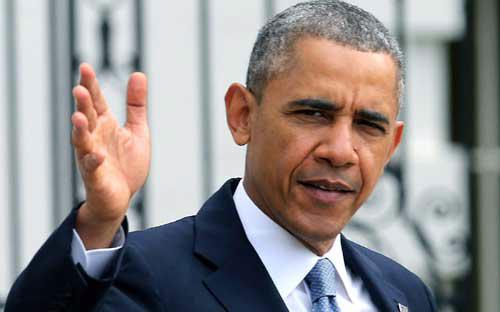 Tổng thống Mỹ Barack Obama - Ảnh: Metro.<br>