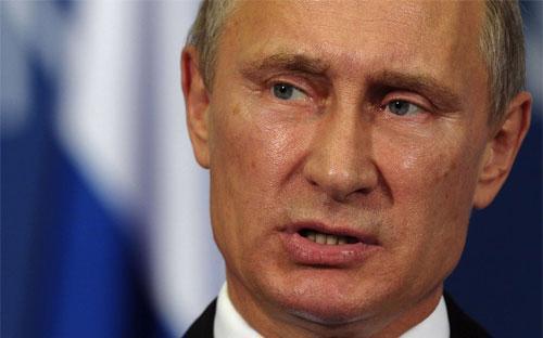Tổng thống Nga Vladimir Putin - Ảnh: Reuters.<br>