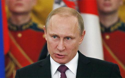 Tổng thống Nga Vladimir Putin - Ảnh: Reuters/BI.<br>