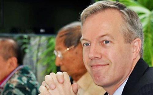 Đại sứ Mỹ tại Việt Nam Ted Osius.<br>