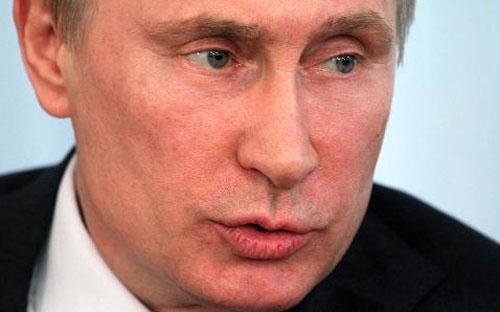 Đây là tín hiệu đầu tiên mà ông Putin đưa ra cho thấy ông sẽ không chấp  nhận cuộc trưng cầu dân ý mà các phần tử nổi loạn thân Nga dự kiến tổ  chức ở miền Đông Ukraine vào ngày Chủ nhật tuần này - Ảnh: Getty.