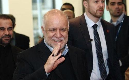 Bộ trưởng Bộ Dầu lửa Iran Bijan Zanganeh - Ảnh: Reuters.<br>