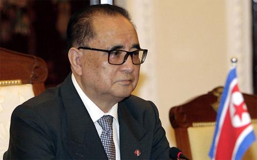 Ngoại trưởng Triều Tiên Ri Su Yong.<br>