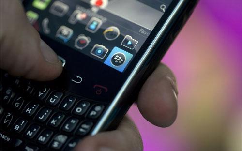 Những tin tức khả quan gần đây có thể báo hiệu một năm 2014 tốt đẹp hơn cho BlackBerry - Ảnh: Bloomberg.