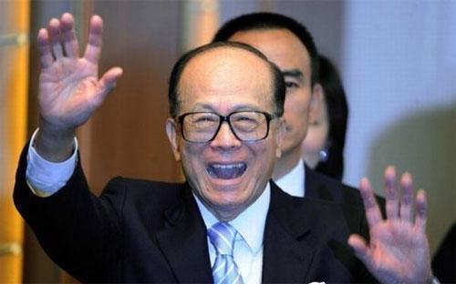 Tỷ phú Li Ka-shing, người giàu nhất châu Á.<br>