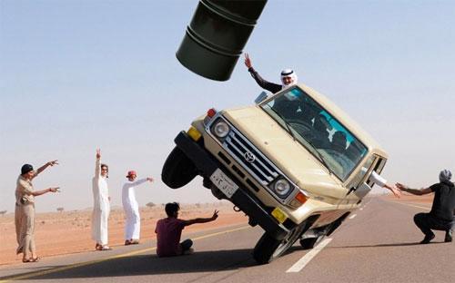 """""""Saudi Arabia là quốc gia duy nhất ở vị thế muốn tăng sản lượng dầu là  tăng được ngay, và muốn giảm sản lượng dầu cũng giảm được ngay"""" - Ảnh: Reuters.<br>"""