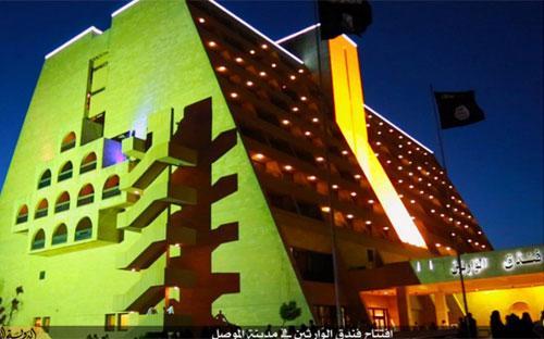 Khách sạn hạng sang mà IS mới mở ở Mosul, Iraq - Ảnh: Independent.<br>