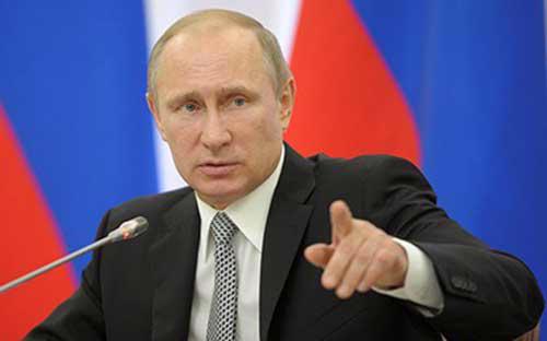 Tổng thống Nga Vladimir Putin - Ảnh: News.<br>