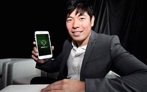 Anthony Tan, nhà sáng lập kiêm Giám đốc điều hành (CEO) của GrabTaxi.<br>