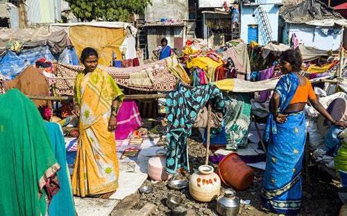 Ấn Độ là quốc gia mà Oxfam lấy làm ví dụ điển hình về sự chênh lệch giàu nghèo ngày càng lớn - Ảnh: Getty.<br>