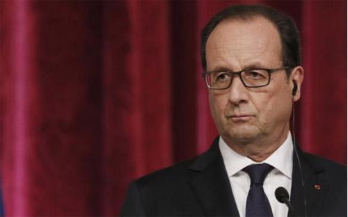 Tổng thống Pháp Francois Hollande - Ảnh: Reuters.<br>