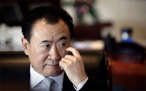 Tỷ phú giàu nhất Trung Quốc đại lục Wang Jianlin.