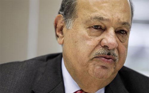 Tỷ phú Mexico Carlos Slim - Ảnh: Bloomberg.<br>