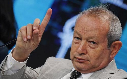 Tỷ phú Ai Cập Naguib Sawaris - Ảnh: Reuters/BI.<br>