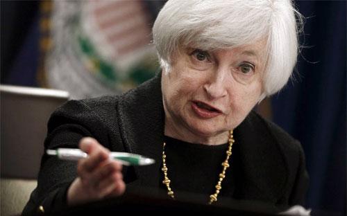 Chủ tịch FED Janet Yellen - Ảnh: Reuters/WSJ.<br>