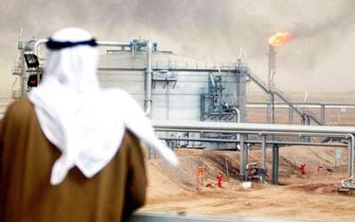 Dầu lửa đóng góp 90% thu ngân sách Saudi Arabia.