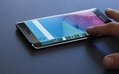 Chiếc S6 Edge Plus mà Samsung giới thiệu hồi tuần trước.<br>